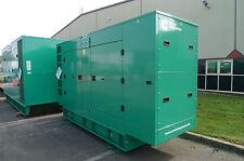 (New) Cummins 150kVA / 136kVA Silent Diesel Generator, Genny, Genset - C150D5