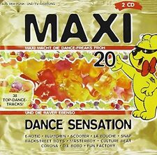 Maxi Dance Sensation 20 (1996) E-Rotic, Masterboy, Fun Factory, M-Peopl.. [2 CD]