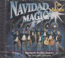 Mariachi Arriba Juarez De Oswaldo Vazquez Navidad Magica Con Mariachi CD New