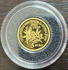 FRANCE Semeuse - 5 euro or 2010 - Anniversaire du nouveau franc