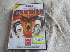 Wolfchild/neuf non utilisé Dans Du Cellophane/Sega Master System/SMS Blister