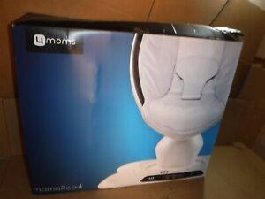 4Moms Mamaroo 4 Infant Reclining Seat Rocker Bouncer Bluetooth 4.0 Black Classic
