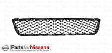 Genuine Nissan 2011-2016 GT-R Premium & NISMO Front Bumper Lower Grille NEW OEM
