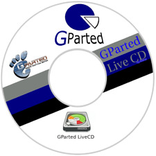Gparted  Disk Partition software Live CD AMD 64 bit