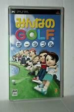 MINNA NO GOLF GIOCO USATO OTTIMO STATO SONY PSP EDIZIONE JAPAN GD1 42667