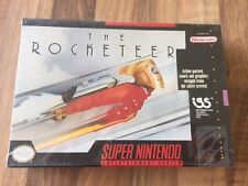 Super Nes :      THE ROCKETEER     -NEUF/NEW- SOUS BLISTER       PAL US