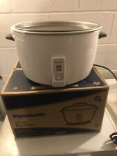 More details for rice cooker( panasonic) brand new