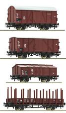 Roco H0 Güterwagen-Set der DB 4-teilig - NEU