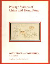 SOTHEBY'S Postage Stamps China Hong Kong Auction Catalog 1997