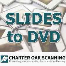 100 35mm Slides converted to DVD [Slide Scanning Service]