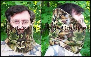Hand-Made Face-n-Neck Warmer /Hunting, Fishing, Skiing, Snowmobiling, Motorcycle