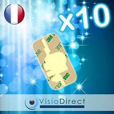Lot de 10 Stickers autocollant Adhesif scotch pour vitre écran iPhone 3G et 3GS