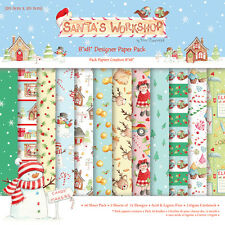 "Helz Cuppleditch Santa's Workshop   -  PACK 48 X  8"" x 8"" PAPERS -"