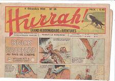 HURRAH n°28 - 11 décembre 1935 - Très bel état.