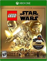 NEW LEGO Star Wars: The Force Awakens Deluxe Edition (Microsoft Xbox One, 2016)