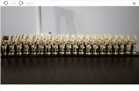 100 Pcs Minifigures Battle DROID Army Full color - Star Wars Lego MOC