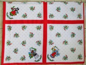 nappe vintage Alsacienne 190 x 145 cm + serviettes de table