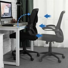 Adjustable Office Chair Computer Desk Chair Fabric Swivel Chair for Work Study
