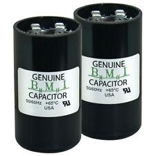 (2) Pack , 540 - 648 uF Mfd x 125 Vac Bmi Motor Start Capacitor 092A540B165Bd4A