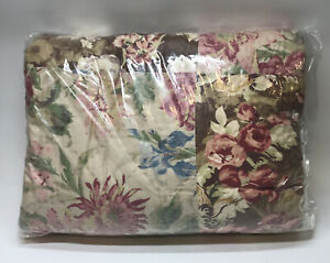 Pottery Barn Carolina Hand Patchwork Cotton Quilt, Full/Queen, Free Shipping