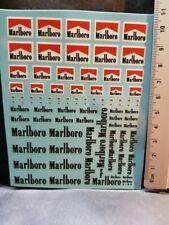 """DECALS 1/43 TABAC """" MARLBORO """" - COLORADO UV"""