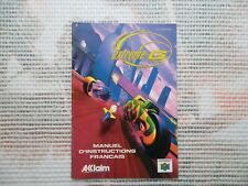 Notice Nintendo 64 / N64 Mode d'emploi Extreme G manual booklet *