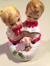 Josef Originals Christmas Choir Boys Music Box