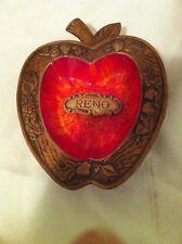 Treasure Craft-Reno-Ashtray-Vintag e-Usa-Collectible-Nevada-V gc