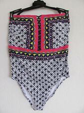 Trina Turk Plus Size 16w Tanzania Scarf Bandeau One-piece Swimsuit