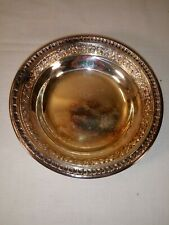 1950/'s 2 Reed /& Barton #1201 Silverplate Bowls small and ornate