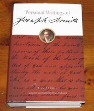 2002 PERSONAL WRITINGS JOSEPH SMITH Hardcove/DJ Illustrated Maps Like New Mormon
