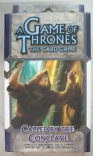 A Game of Thrones The Card Game Called By The Conclave Chapter Pack NEW Sealed