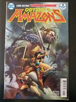ODYSSEY of the AMAZONS #1a (of 6) Wonder Woman (2017 DC Comics) VF/NM Comic Book