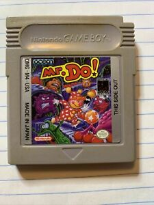 Mr.Do Nintendo Gameboy Game  -Tested No Box. Just Game