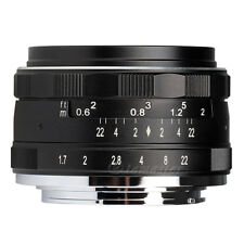 Meike APS-C E-35mm F1.7 Aperture Manual Prime Lens APS-C For Sony SLR E Mount