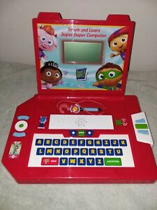 Super Why Touch and Learn Super Duper Computer Learning Curve PBS Laptop Rare