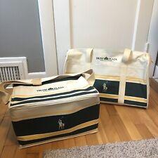 New Vintage Ralph Lauren Polo Trump Plaza Duffle Bag & Insulated Cooler RARE NOS