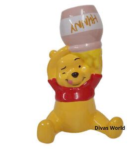 Disney Money Box Winnie The Pooh Piggy Bank Cute Ceramic Bear Xmas Gift Primark