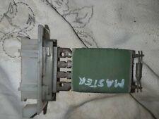 Renault Master 1997-2003 Heater Blower Motor Resistor