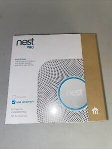 Nest PRO Nest Protect Smoke & CO Alarm S3004PWBUS Lithium +AA Battery