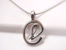 "The Letter ""L"" Pendant 925 Sterling Silver Corona Sun Jewelry l alphabet"