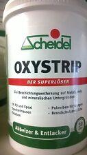 """1ltr Scheidel Oxystrip Abbeizer Entlacker """"Der Superlöser"""" für Innen und Außen"""