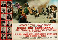 Gregory Peck, Omar Sharif - Mackenna's Gold (1969)  - 8 1/2 X 11