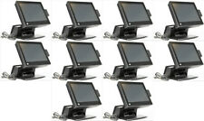 "Lot of 10 Hp Rp7800 Retail Pos System 15"" Touchscreen 2.5Ghz 4Gb 500Gb Sdd Hdd"