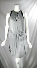 BELLA LUXX LOS ANGELES Gray Elastic Waist Sleeveless Sun Dress Size Medium