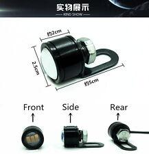1pcs Handlebar Spotlight LED Motorcycle Headlight Daytime Light Driving Fog Lamp
