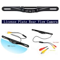 Car Rear View Backup Camera 8 IR Night Vision  License Plate Frame Mount CMOS