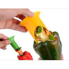 2pcs/Set Plastic Pepper Chili Jalapeno Corer Seed Remover Kitchen Tool