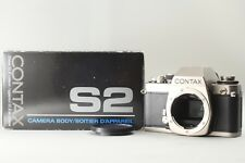 ** Unused ** Contax S2 SLR Film Camera From JAPAN #0288