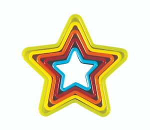 AVANTI STAR COOKIE CUTTERS SET OF 5 - START